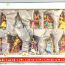 Rare! 2011 Disney Princess Limited Edition Holiday Ornament Set 10 figure doll
