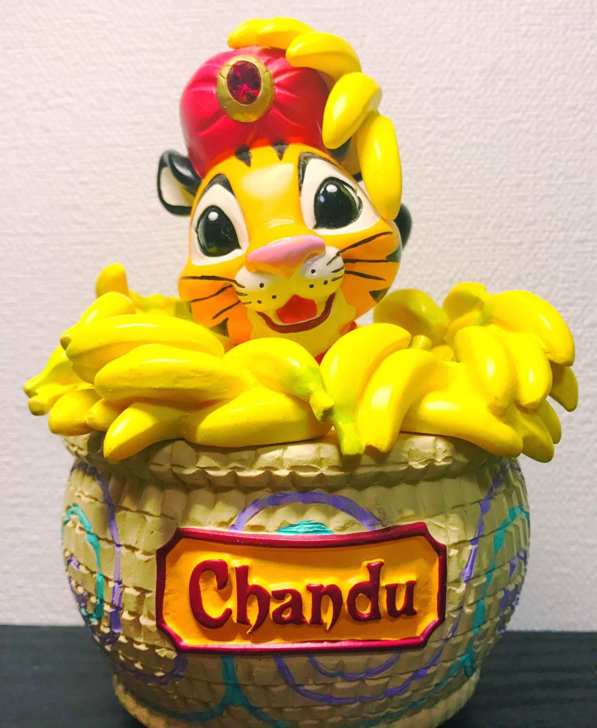 Tokyo Disney Sea limited Chandu Music Box figure Trick ornament Disneyland F/S