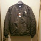 Offer Darth Vader Embroidery Flight Jacket Sukajan XL LL black Jumper Short coat