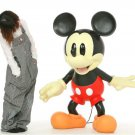 "Mickey Mouse LIFESIZE 1/1 Statue 53.1"" Figure Display BIG Ornament doll JAPANNEW"