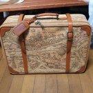 Walt Disney World Resort x MacDonald Map trunk carry case Travel Bag suitcase FS