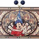 Mickey Magical Hat Genuine leather wallet Stained glass fantasia Diversion purse