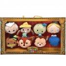 Disney EXPO Japan 2015 D23 TSUM TSUM Pinocchio 8 Plush toy set Jiminy Monstro FS