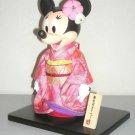 Tokyo Disney Resort Minnie mouse Furisode kimono doll Maiko yukata dress figure