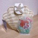 Little mermaid Ariel Shell type Rattan shoulder bag White Chain Basket Bag tote