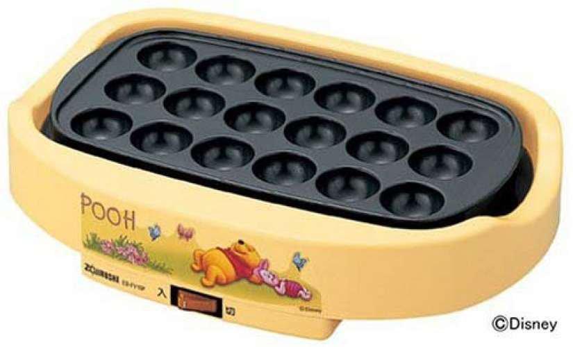 Disney � ZOJIRUSHI Winnie the Pooh Electric Takoyaki Maker EBFV 10P plate Yellow