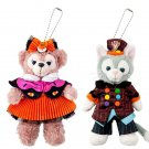 2017Halloween Stella Lou & Duffy & Sherry May &Gelatoni Plush Doll toy Badge set