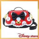 Disney store Minnie Mobile Pochettes Shoulder bag Polka dot ribbon Red Black