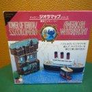 Tokyo Disneyland Dioramap Tower of Terror Columbia American Waterfront Miniature