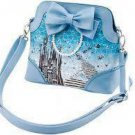 2015 Disney store BABY, THE STARS SHINE BRIGHT Cinderella Shoulder bag Tote blue