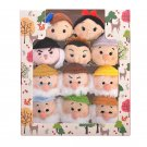 Disney Store Japan Snow White Seven dwarfs Series TSUM TSUM Plush doll toy Set