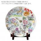 Disney Alice in Wonderland Ceramic clock table clock Flower porcelain madeJapan