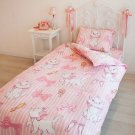Aristocat Marie Single coverring 3 piece set bedding bed sheet Pillow case pink