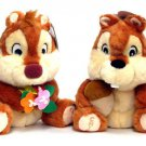 US Disneyland Chip & Dale Bean Bag Plush toy dolll set Large size FS
