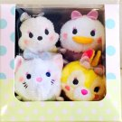 Disney Tsumsumu Harajuku Limited set Pludh doll Minnie Marie Daisy Miss Bunny