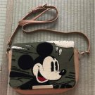 Disney Mickey Mouse Sagara woven shoulder 2way embroidery clutch back Glay