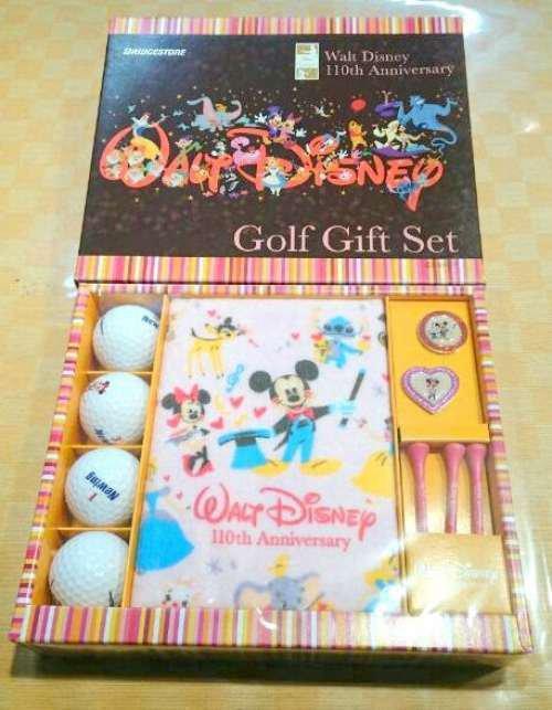 Disney � BRIDGESTONE110 th All Star Golf Ball Gift Set Mickey Minnie mouse FS