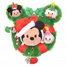 Disney TSUM TSUM 2017 Christmas wreath Stuffed Doll Mickey & Friends Plush Doll