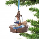 Disney Store Belle Christmas Tree Ornament Beauty and the Beast decorationfigure