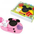 Mickey Minnie Mouse Icon Baby Tableware Dishes Cup set Japan From 5 months FS