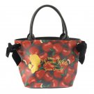 Disney store Japan Snow White 80th Anniversary Hande bag lether Tote Bag Apple