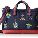 Disney Alien ROOTOTE 2WAY Smartphone Case Pochette shoulder bag Dark blue