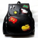 Tokyo Disney Resort Mickey Mouse Icon Backpack Suck Backpack School Bag Patch