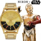 NIXON x Star Wars THE SENTRY Gold C3PO Wrist Watch A356SW-2378 Unisex
