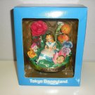 Rare! Tokyo Disneyland Alice's Adventures in Wonderland Figure Clock Ornament