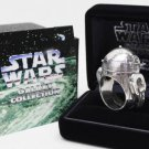 1997 R2-D2 JAP STUDIO STAR WARS Men's Silver Ring OW 40 Jewelry