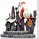 1999 Nightmare Before Christmas Santa Jack & Zero Figure Jun Planning rare iteme