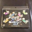 Tokyo Disney Resort 25th Anniversary Pin Batch Mickey & Minnie Disney Land