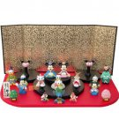 Disney Mickey & Friends Hina Doll Set Event Figure Fan Marie Donald Chip