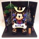 Tokyo Disney Resort Limited Mickey May Doll Fujiah Large Samurai Ornament