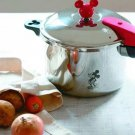 Mickey Mouse 0 minutes Pressure cooker L pot IH compatible Asahi Metal Japan NEW