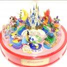 DoCoMo original xTokyo Disney Resort Jubilation Miniature Diorama Figure float