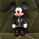 rare! TOMY Character Mickey Mouse Lock Leather Jumper Figure Band Doll