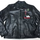 Nightmare Before Christmas Haunted Mansion Holiday Limited Leather Jacket M size