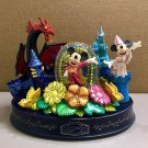 2001 Goodbye Tokyo Disneyland Fantillusion Memorial Figure Ornament Premier