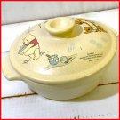 Disney Winnie the Poo Tsuki Pot with Sukiyaki Ramen Bowl Noodle Bowl Housewares