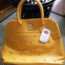 Disney Store Japan Limited Snow White Half Dwarf Tote Bag Handbag Yellow