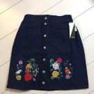 Disney Character Beauty and the Beast x E hyphen Indigo Skirt Free Size