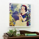 Disney Character Goods Snow White Large Size Fabric Panel Wall Picture Sticker