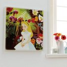 Disney Wonderland Alice Large Size Fabric Panel Wall Picture Sticker Item