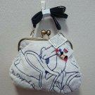 Disney Character Goods Donald Duck Gamaguchi Pochette Bag Pouch Wallet