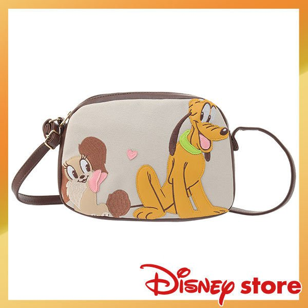Disney Store Japan Character Goods Pluto and Fifi Pochette Shoulder Pouch