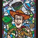 Disney Toy · Story Woody Picture Stained Glass 456 Piece Jigsaw Puzzle