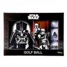 2018 STAR WARS Golf ball 1 dozen 12 pieces Darth · Vader Stormtrooper Boba Fett