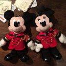 Tokyo Disneyland Hotel Limited Character Mickey & Minnie Plush Doll badge Doll