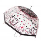 "Disney Minnie Mouse Adult Vinyl umbrella 60 cm (23.6"") Rain Ware Ladies Kids"